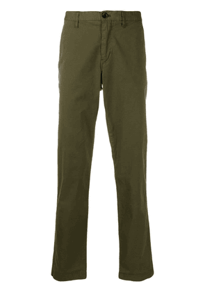 PS Paul Smith straight-leg cotton chinos - Green