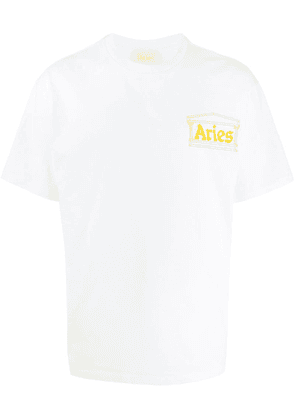 Aries Classic Temple T-shirt - White