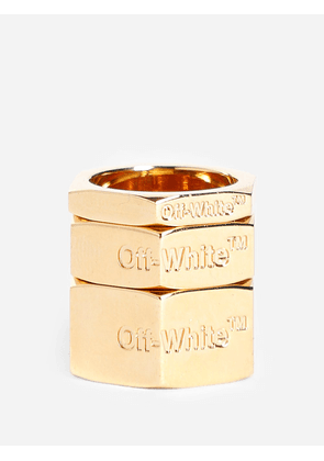 Off White C/O Virgil Abloh Rings
