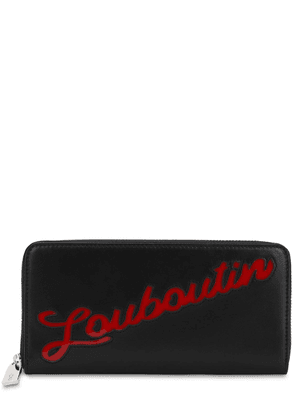 Panettone Loubou Leather Zip Wallet