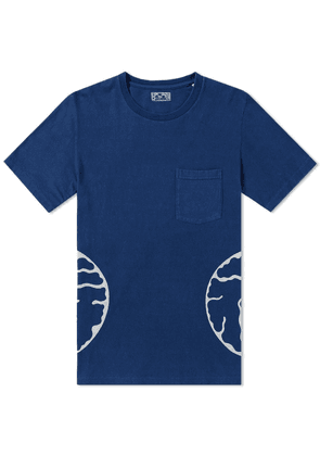 Blue Blue Japan Fukuju Side Pocket Tee