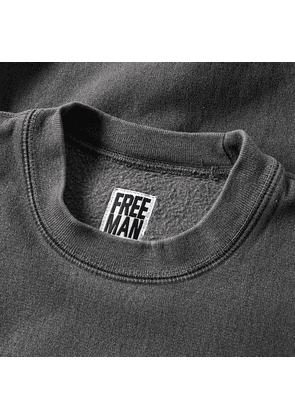 Freemans Sporting Club Garment Dyed Crew Sweat