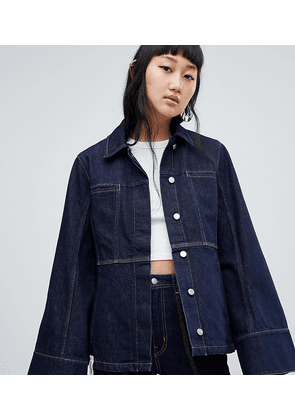 Weekday Limited Collection Seamed Denim Coach Jacket