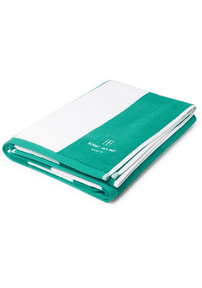 Soho Home - Berlin House Cotton-terry Pool Towel - Green