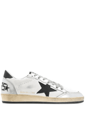 Golden Goose distressed Superstar sneakers - White