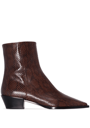 Aeyde Ruby ankle boots - Brown