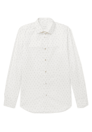Paul Smith - Explorer Slim-fit Printed Cotton Shirt - White
