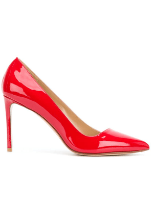Francesco Russo pointed toe pumps - Red