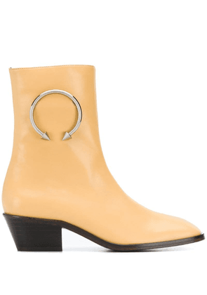 Dorateymur ring embellished boots - Yellow