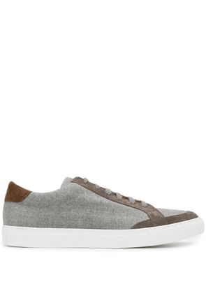 Eleventy panelled sneakers - Grey