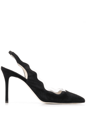 Francesca Bellavita Moonsling pumps - Black