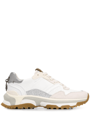 Coach Runner With Glitter - White