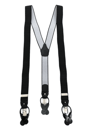 Fefè two tone braces - Black