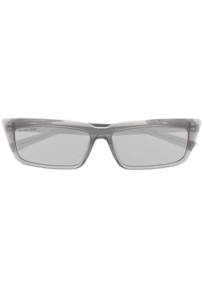 Balenciaga Eyewear rectangular frame sunglasses - Grey