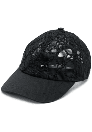 Gucci GG embroidered baseball cap - Black