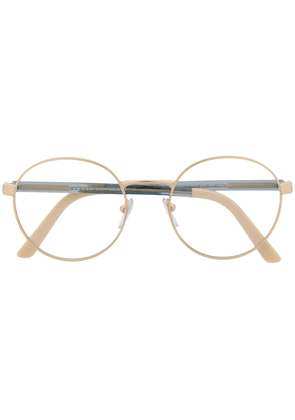 Prada Eyewear circle frame optical glasses - Blue