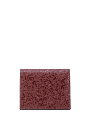 Thom Browne double sided card holder - Red