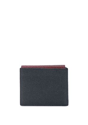 Thom Browne front flap pocket billfold wallet - Red