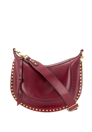 Isabel Marant studded Naoko shoulder bag - Red