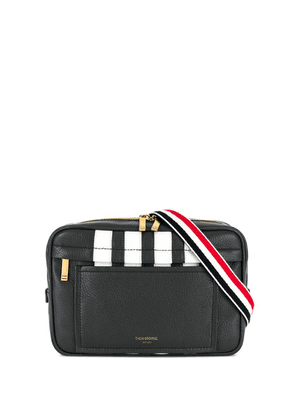 Thom Browne 4-bar Deerskin Belt Bag - Grey