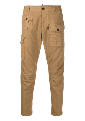 Dsquared2 tapered utility trousers - Brown