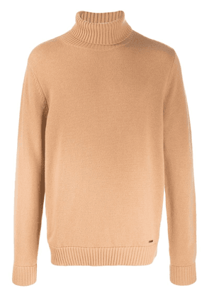 Dsquared2 relaxed-fit turtleneck jumper - Brown