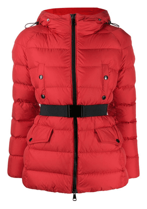 Moncler Clion belted jacket - Red