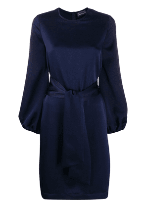 Gianluca Capannolo belted dress - Blue