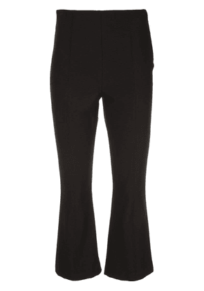 A.L.C. cropped flared trousers - Black