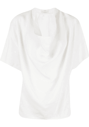 Co draped detail top - White