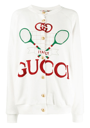 Gucci reversible Gucci Tennis jacket - White