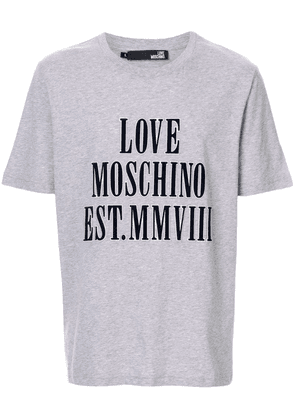 Love Moschino LOVE t-shirt - Grey