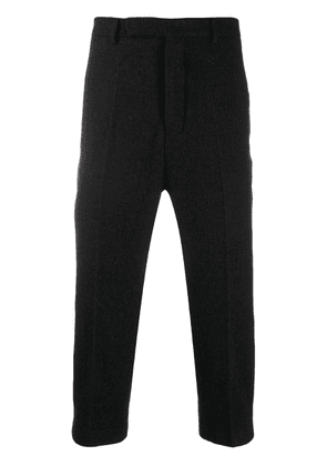 Rick Owens slim-fit cropped trousers - Grey