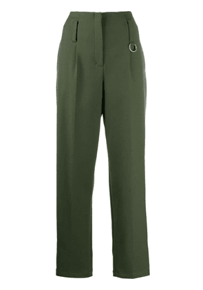 Dorothee Schumacher tapered leg trousers - Green