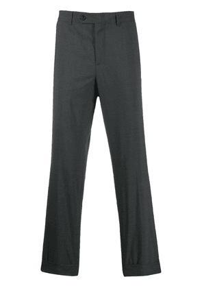 Brunello Cucinelli slim-fit tailored trousers - Grey