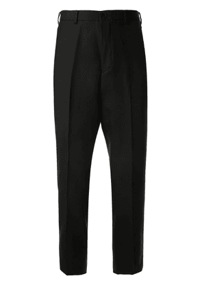 Loveless cropped tapered trousers - Black