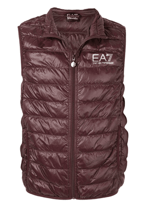 Ea7 Emporio Armani quilted gilet - Red