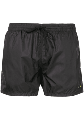 Fendi Bag Bugs swim shorts - Black