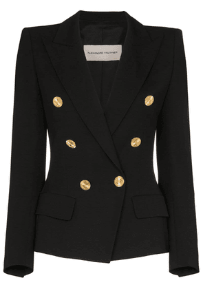 Alexandre Vauthier double-breasted blazer jacket - Black