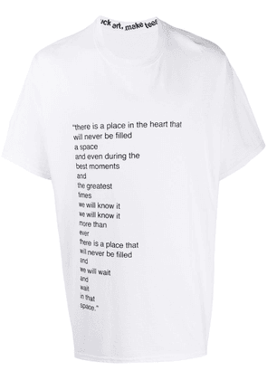 F.A.M.T. We Will Know It t-shirt - White