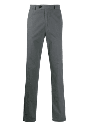 Brunello Cucinelli long straight fit trousers - Grey