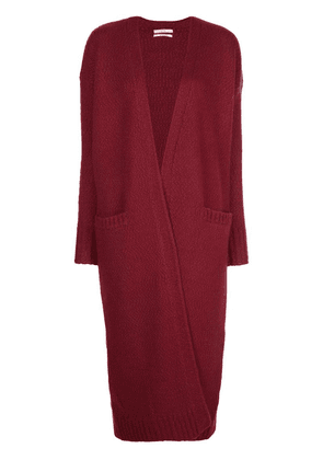 Co long line cardigan - Red