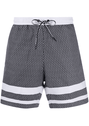 Boss Hugo Boss drawstring beach shorts - Grey