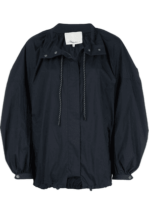 3.1 Phillip Lim oversized parka coat - Blue