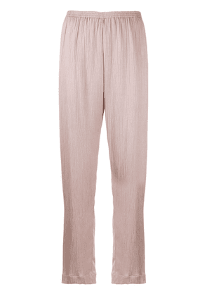 Forte Forte pleated palazzo pants - Pink