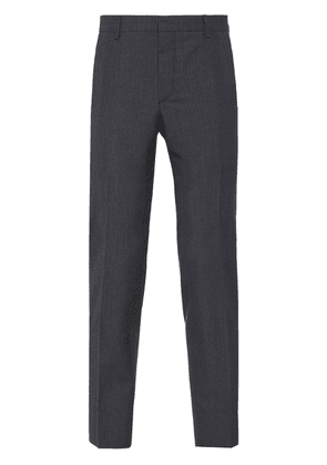 Prada tailored cropped trousers - Grey