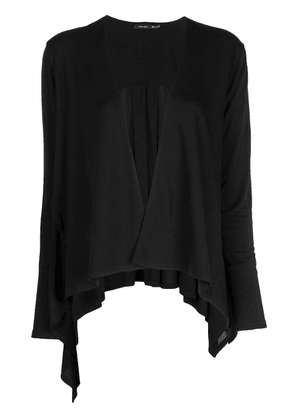 Natori draped Waterfall cardigan - Black