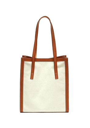 Canvas city tote bag