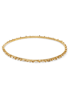 Rosantica - Argo Crystal-embellished Gold-tone Headband - one size