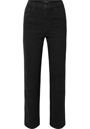 J Brand - Jules High-rise Straight-leg Jeans - Black